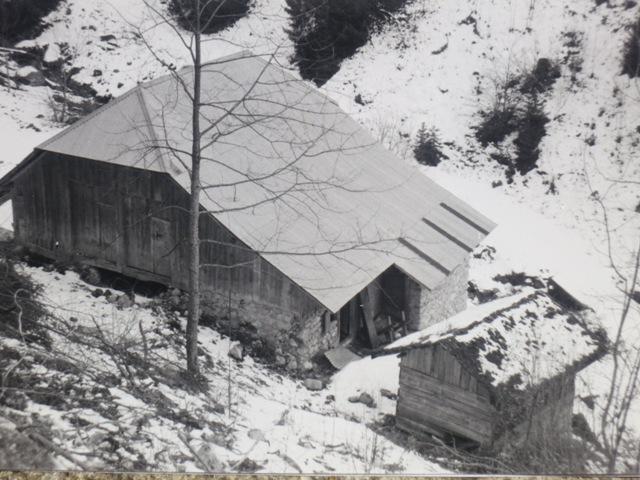 Un grenier de ferme traditionnel